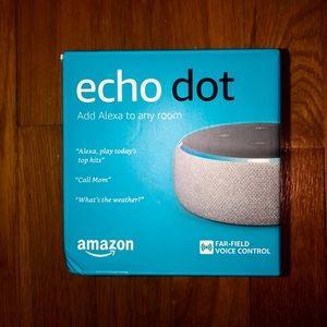 STILL SEALED / Never Opened Echo Dot (3rd Gen.)